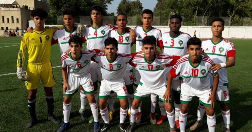 لائحة المنتخب الوطني المغربي لكرة القدم المشارك في بطولة شمال إفريقيا