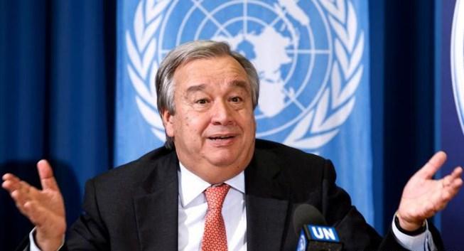 الأمين العام للأمم المتحدة يعترف