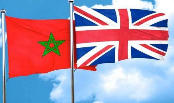 المغرب وبريطانيا