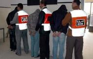 توقيف أربعة أشخاص يشتبه ارتباطهم بشبكة إجرامية