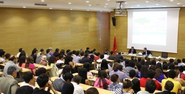 الطلبة بالجامعات المغربية