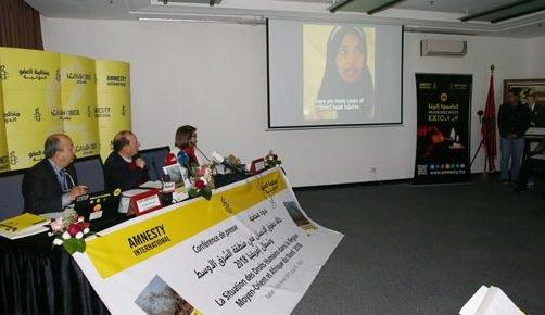 العفو الدولية: المغرب يشهد تطورات إيجابية على المستويين التشريعي والمؤسساتي..