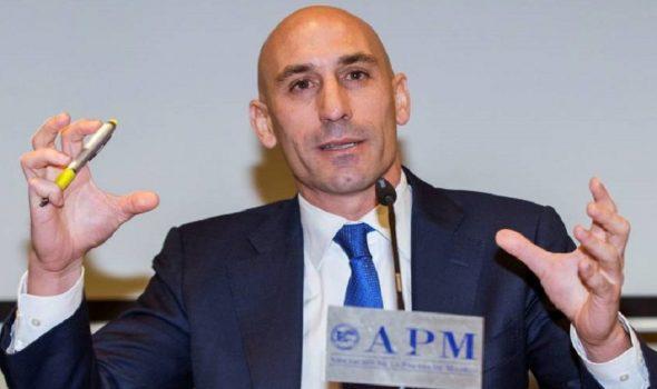 لويس روبياليس رئيس الاتحاد الملكي الإسباني لكرة القدم1