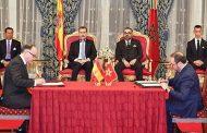الملك محمد السادس والملك فيليبي السادس يترأسان حفل التوقيع على عدة اتفاقيات للتعاون الثنائي