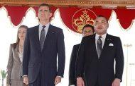 حفل استقبال رسمي بالرباط على شرف عاهلي إسبانيا الملك فيليبي السادس والملكة