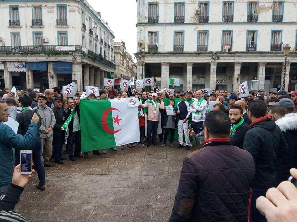 تجدد المظاهرات بالجزائر العاصمة..