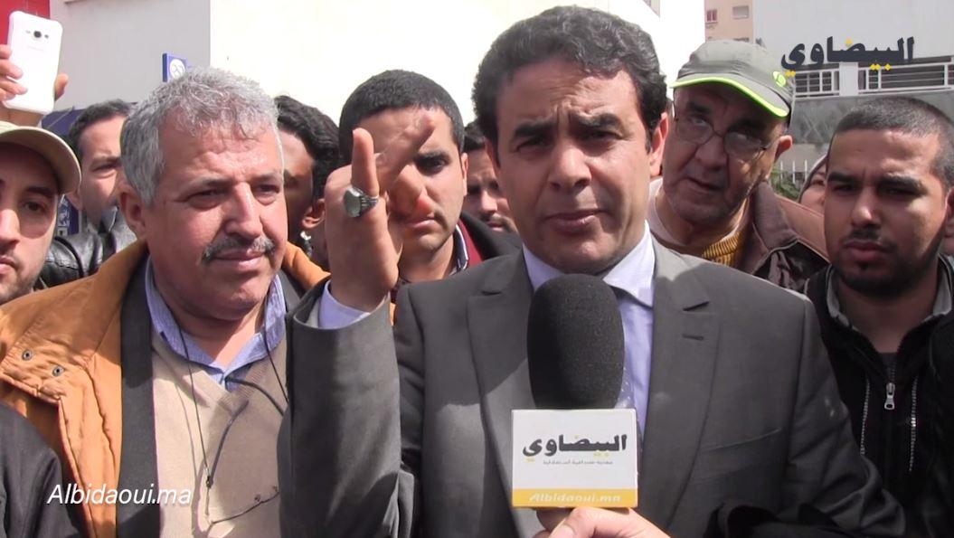 فيديو، المسكيني: القضاء المغربي ينصف زكريا فتحاني ومن ورائه 60 ألف موزع