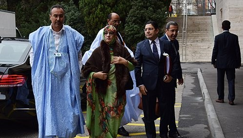الوفد المغربي بجنيف