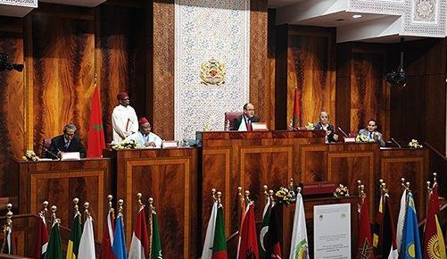 برلمانات العالم الإسلامي تؤكد رفضها لأي تغيير للوضع القانوني للقدس الشريف