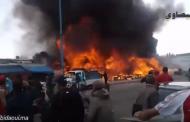 حريق سوق