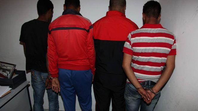 توقيف أربعة تونسيين..