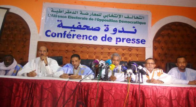 التحالف الانتخابي للمعارضة الموريتانية يطالب بمنظومة إشراف شاملة على الرئاسيات المقبلة