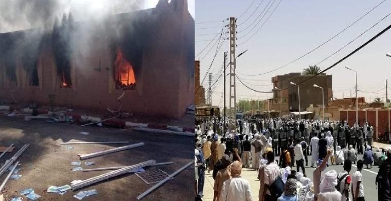 الجزائر.. توقيفات وعنف وجرحى في صفوف المحتجين والشرطة