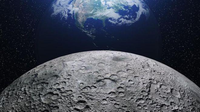 آخر ما ابتُكِرَ لتشييد قاعدة على سطح القمر