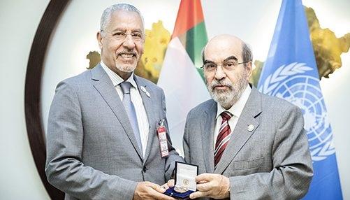 تتويج مغربي بالجائزة الذهبية لل (فاو)