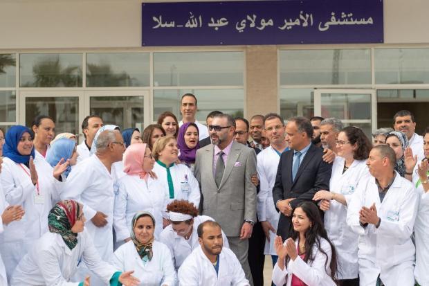 مستشفى إقليمي نموذجي بمواصفات دولية