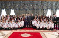 الأمير مولاي الحسن يستقبل أطفال القدس