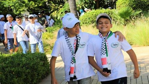 وكالة بيت مال القدس تنظم المخيم الصيفي لأطفال القدس