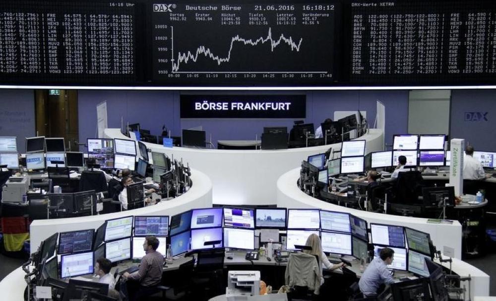 ارتفاع الأسهم الأوروبية لأعلى مستوى