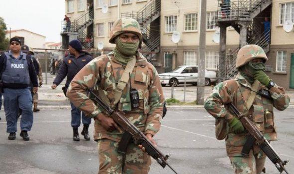 الجيش الجنوب افريقي