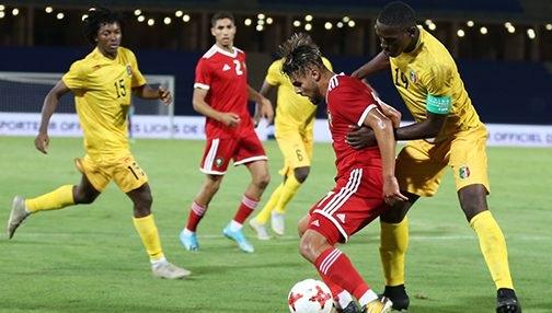 حصة تدريبية للمنتخب المغربي قبل المباراة ضد مالي