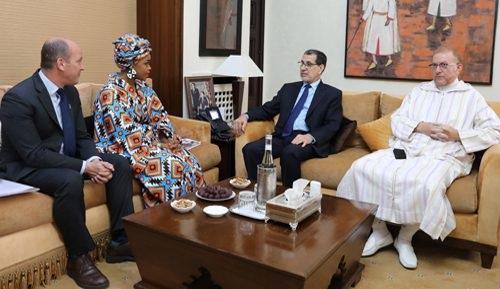 حفيدة مانديلا تقدم بالمغرب مبادرة تتعلق بصحة وسلامة الشباب