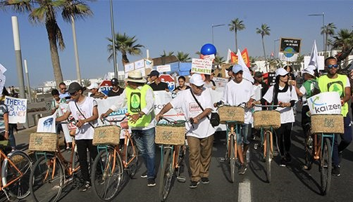 تنظيم مسيرة من أجل المناخ..
