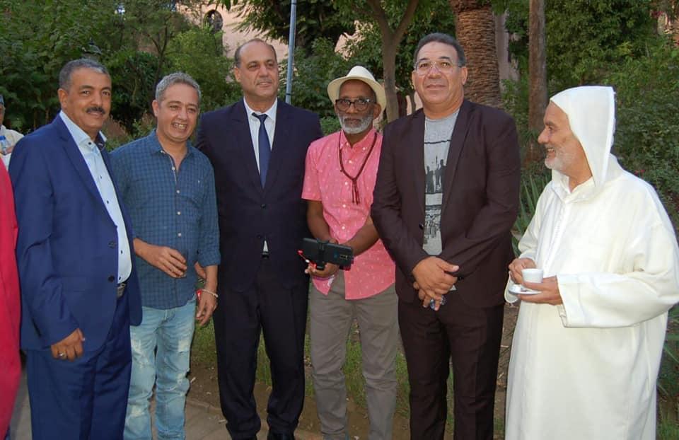تكريم عدد من الفنانين المغاربة