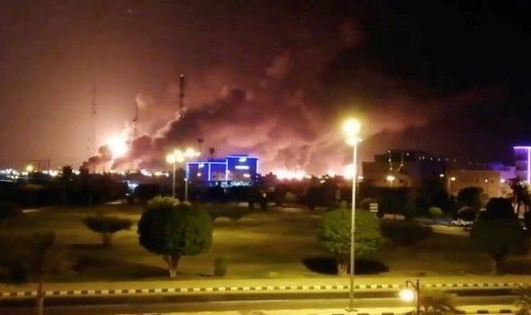 هجوم على حقول النفط بالسعودية