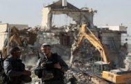 الاحتلال الإسرائيلي يهدم خلال شهر يونيو الماضي 43 منزلا فلسطينيا