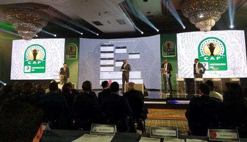 ما أسفرت عنه قرعة الدور الـ 32 لكأس الكونفدرالية الإفريقية لكرة القدم