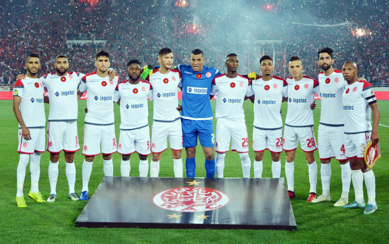 الوداد البيضاوي يفوز على ضيفه فريق اتحاد طنجة 4-0