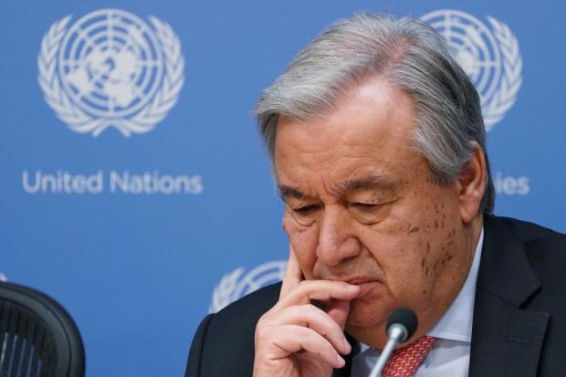 قرب إفلاس الأمم المتحدة..