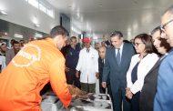 أخنوش يشرف على افتتاح سوق السمك بالجملة لمدينة إنزكان