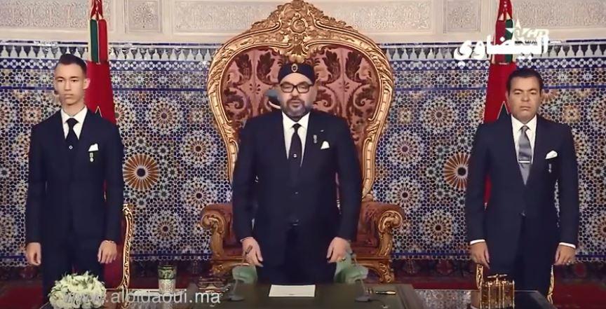 فيديو.. أفئِدة البيضاويين تُصغِي إلى الملك