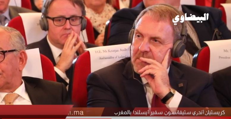 ها علاش جا سفير إيسلندا لمحكمة النقض