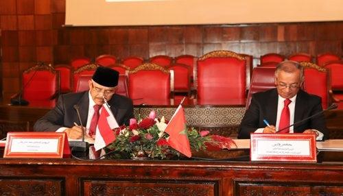 توقيع مذكرة تفاهم بين المغرب وإندونيسيا