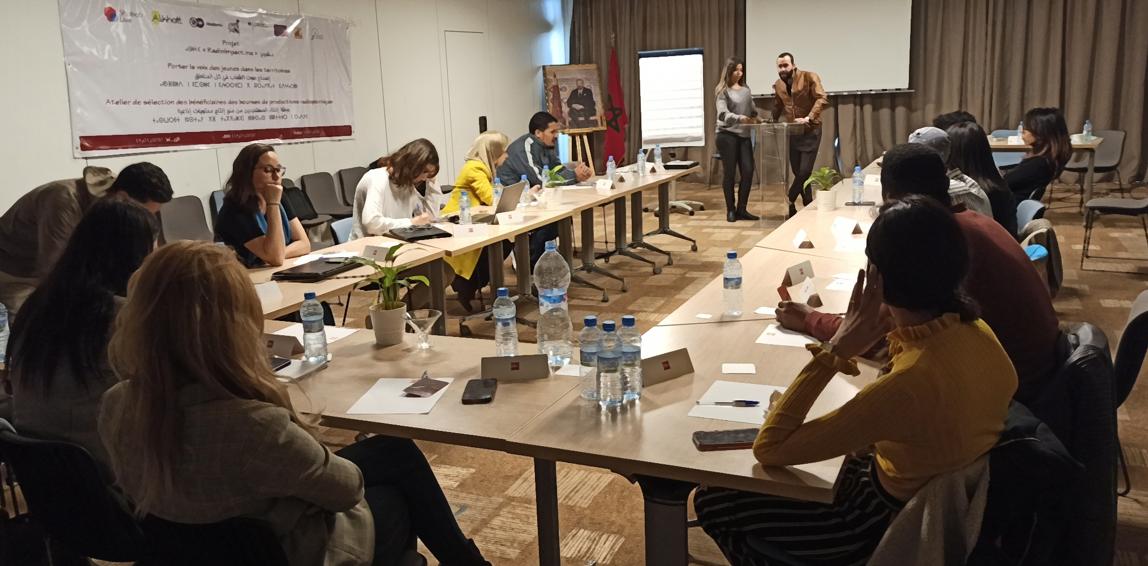 منتدى بدائل المغرب يُسمع صوت الشباب المغربي بوسائل الإعلام