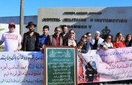 المغاربة العائدون من ووهان الصينية يغادرون المستشفى العسكري