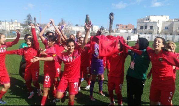 المنتخب المغربي لكرة القدم النسوية