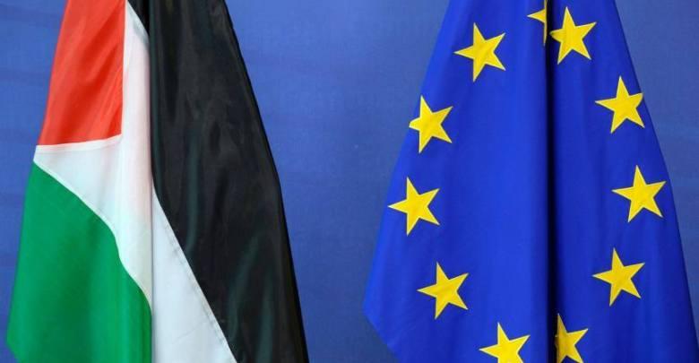 التأكيد على دعم الاتحاد الأوروبي لحل الدولتين
