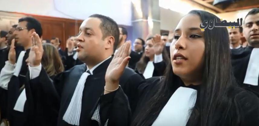 المُحامون الجُدد يؤدون القسم