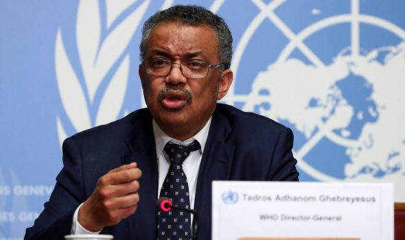 المدير العام لمنظمة الصحة العالمية، تادروس أدهانوم