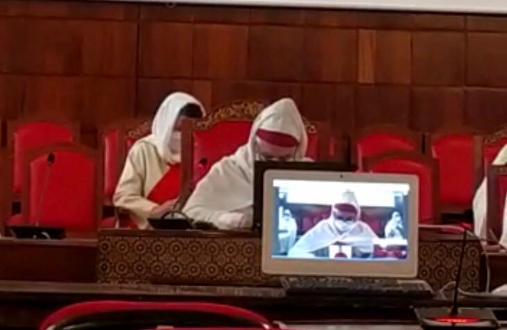 المحاكمة عن بعد، بمحكمة النقض..