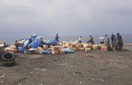 إتلاف 4,6 طن من مخدر الشيرا والمنتجات الممنوعة