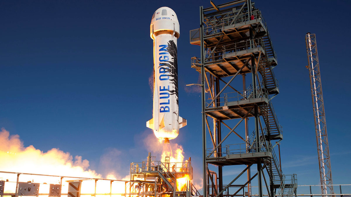 رحلة ناجحة لصاروخ معد للسياحة الفضائية