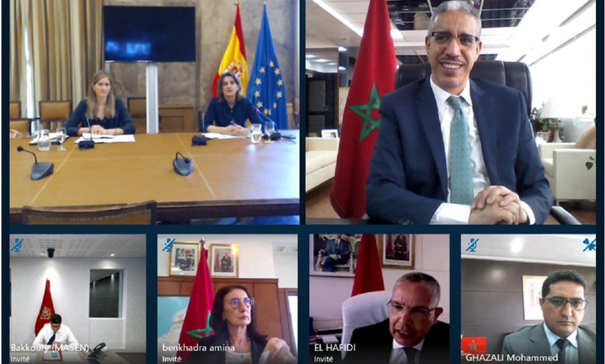 مباحثات مغربية إسبانية لتعزيز الشراكة الطاقية