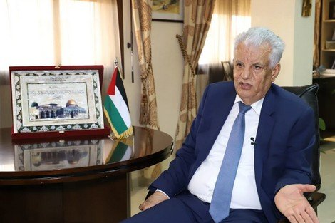 سفير دولة فلسطين بالرباط، السيد جمال الشوبكي