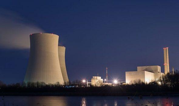 تسرب محتمل في محطة نووية
