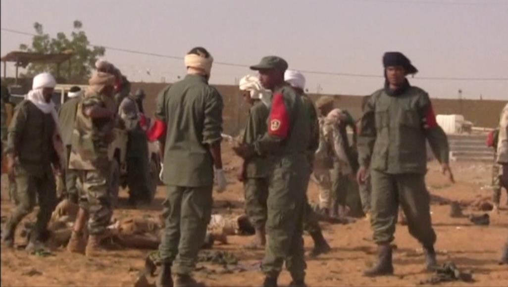 مقتل خمسة جنود ماليين في هجوم لمسلحين وسط البلاد